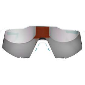 100% Speedcraft BORA-hansgrohe Special Edition Brille team white/hiper silver mirror